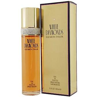 White Diamonds by Elizabeth Taylor for Women 3.3 oz Eau De Toilette Spray