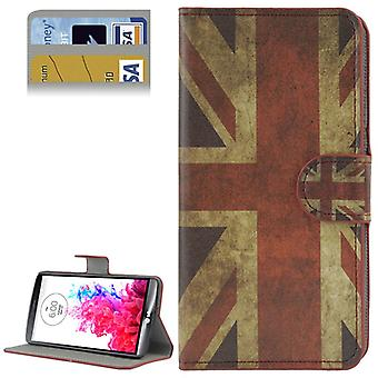 Mobile phone case pouch for cell phone LG G3 retro flag England