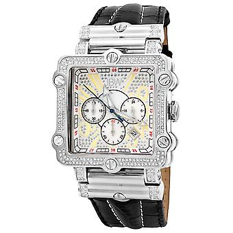 JBW diamond men's stainless steel watch PHANTOM - silver