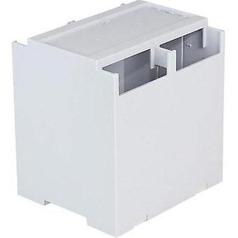 DIN rail casing Cover (gray) 106.2 x 100 x 31.9 Polycarbonate (PC) Grey Axxatronic 1 pc(s)