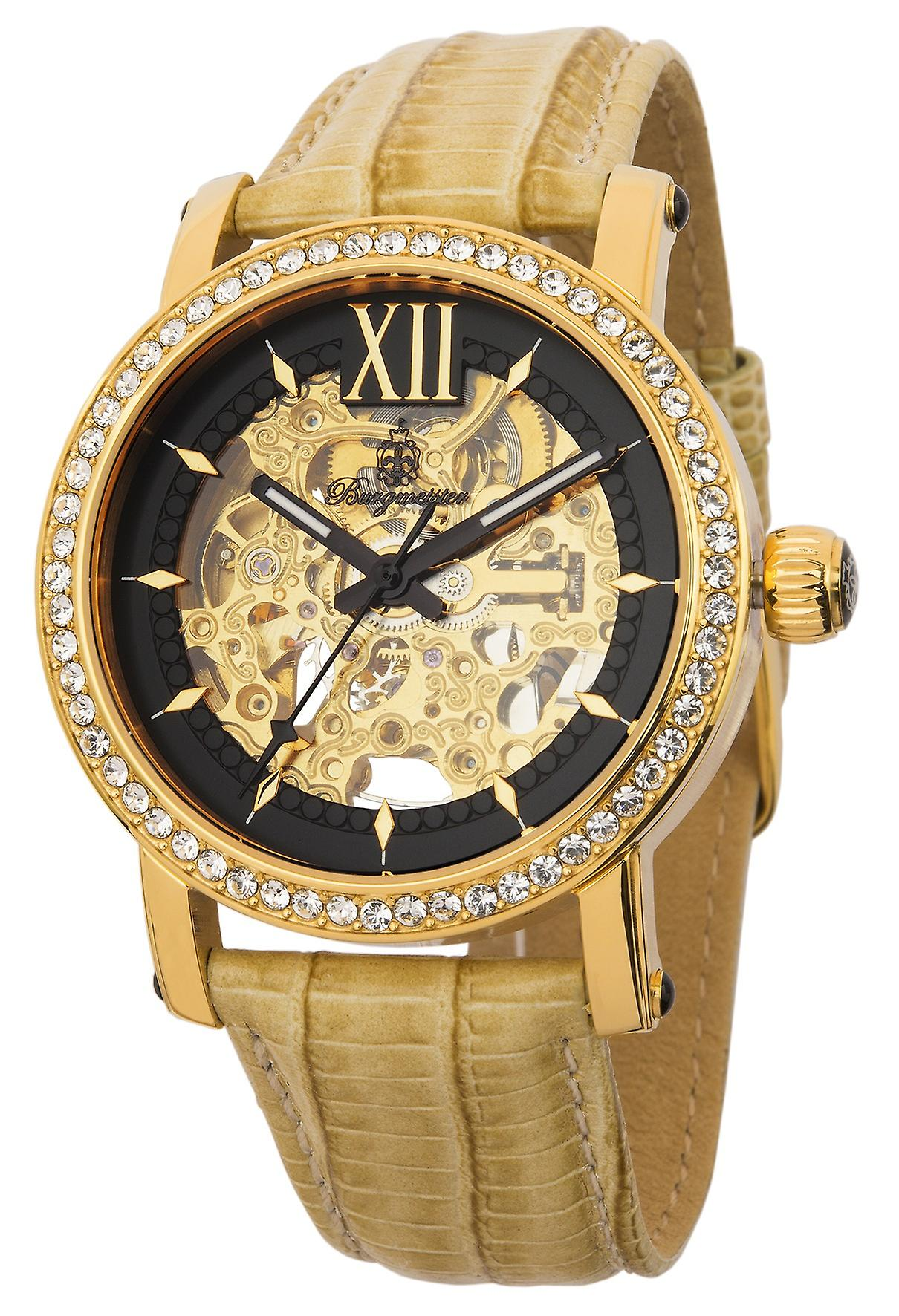 Burgmeister Ladies Automatic Watch  Malaga BM158-202