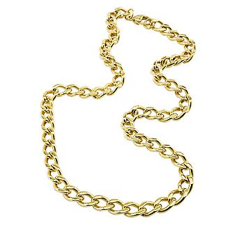 Burgmeister stainless steel curb chain IP gold plated JBM1158-459