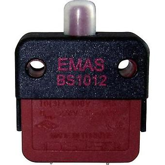 Snap-action switch 250 Vac 16 A 1 x Off/(On) EMAS BS1012-E IP40 momentary 1 pc(s)