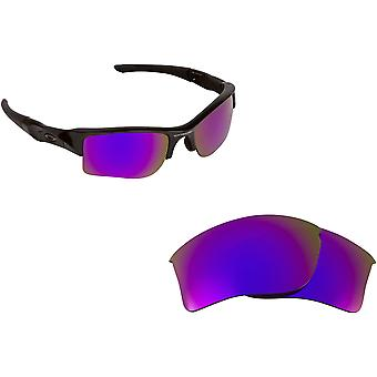 Best SEEK Replacement Lenses for Oakley FLAK JACKET XLJ Purple Blue Mirror