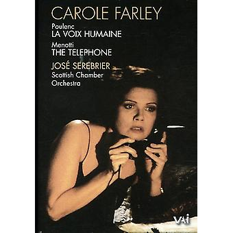 Carol Farley in the Telephone [DVD] USA import