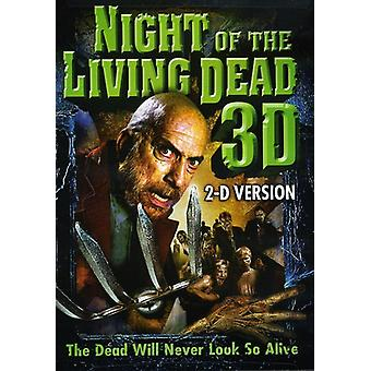 Nacht van de Living Dead 2D/3D [DVD] USA import