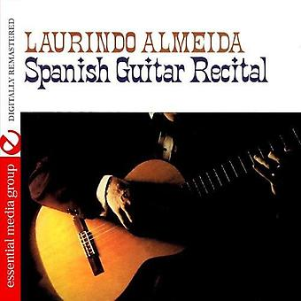 Laurindo Almeida - Spanish Guitar Recital [CD] USA import