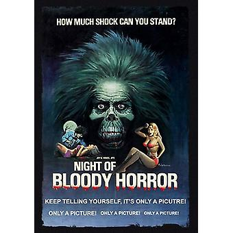 Natten til blodig Horror [DVD] USA import