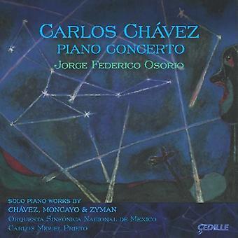 Chavez/Moncayo/Zyman - Carlos Ch Vez: Klaverkoncert [CD] USA import