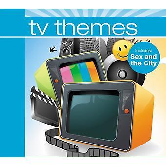 Forskellige kunstner - TV temaer [CD] USA importerer