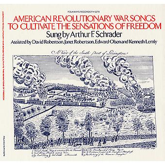 Arthur F. Schrader - American Revolutionary War Songs to Cultivate the [CD] USA import
