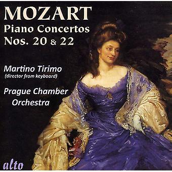 Tirimo/Prague Chamber Orchestra - Mozart: Piano Concertos Nos. 20 & 22 [CD] USA import