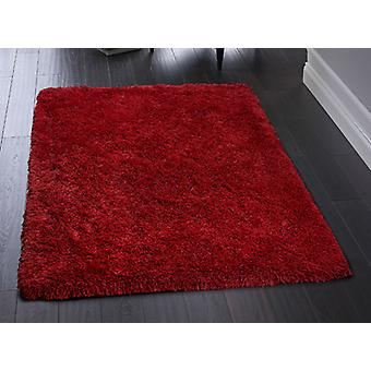 Ritzy Red  Rectangle Rugs Plain/Nearly Plain Rugs