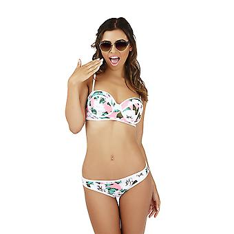 Boutique Ladies Tropical Padded Bikini Set
