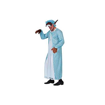 Wolf costume of evil Wolf in the Pajama fairy tale costume mens Gr. L