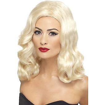 20 luscious long hair wig blonde with waves