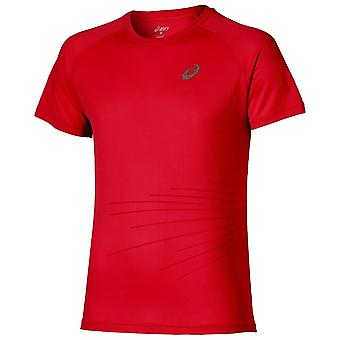Asics Men Liteshow Graphic Top Short Sleeve - 130343-0672