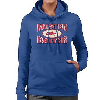 Master Baiter Fishing Pun Women's Hooded Sweatshirt