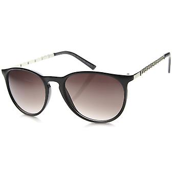 Womens Cat Eye Sunglasses With UV400 Protected Mirrored Lens