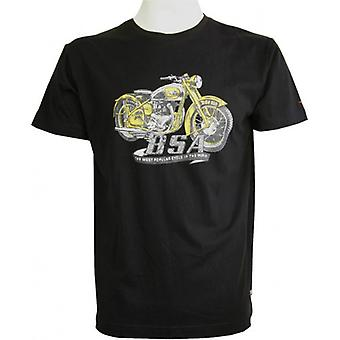 BSA Golden Flash T-Shirt - Black