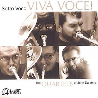 Sotto Voce Tuba Quartet - Viva Voce! the Quartets of John Stevens [CD] USA import