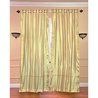 Anillo de oro Top Sari pura cortina / cortina / Panel - pieza