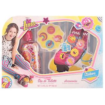 Disney Soy Luna Pack 3 Piezas (Childhood , Kits , Cosmetics , Colonies)