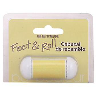 Beter Feet & Roll Replacement for electronic callus remover (Makeup , Nails , Nail files)