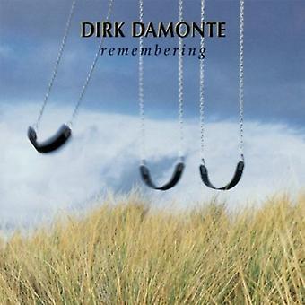 Dirk Damonte - huske [CD] USA importerer