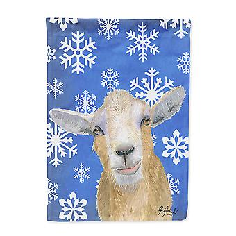 Carolines skatter RDR3023-flagg-foreldre vinter snøflak geit vinter flagget RDR3