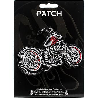 C&D Visionary Patch-Black Chopper Motorcycle 4