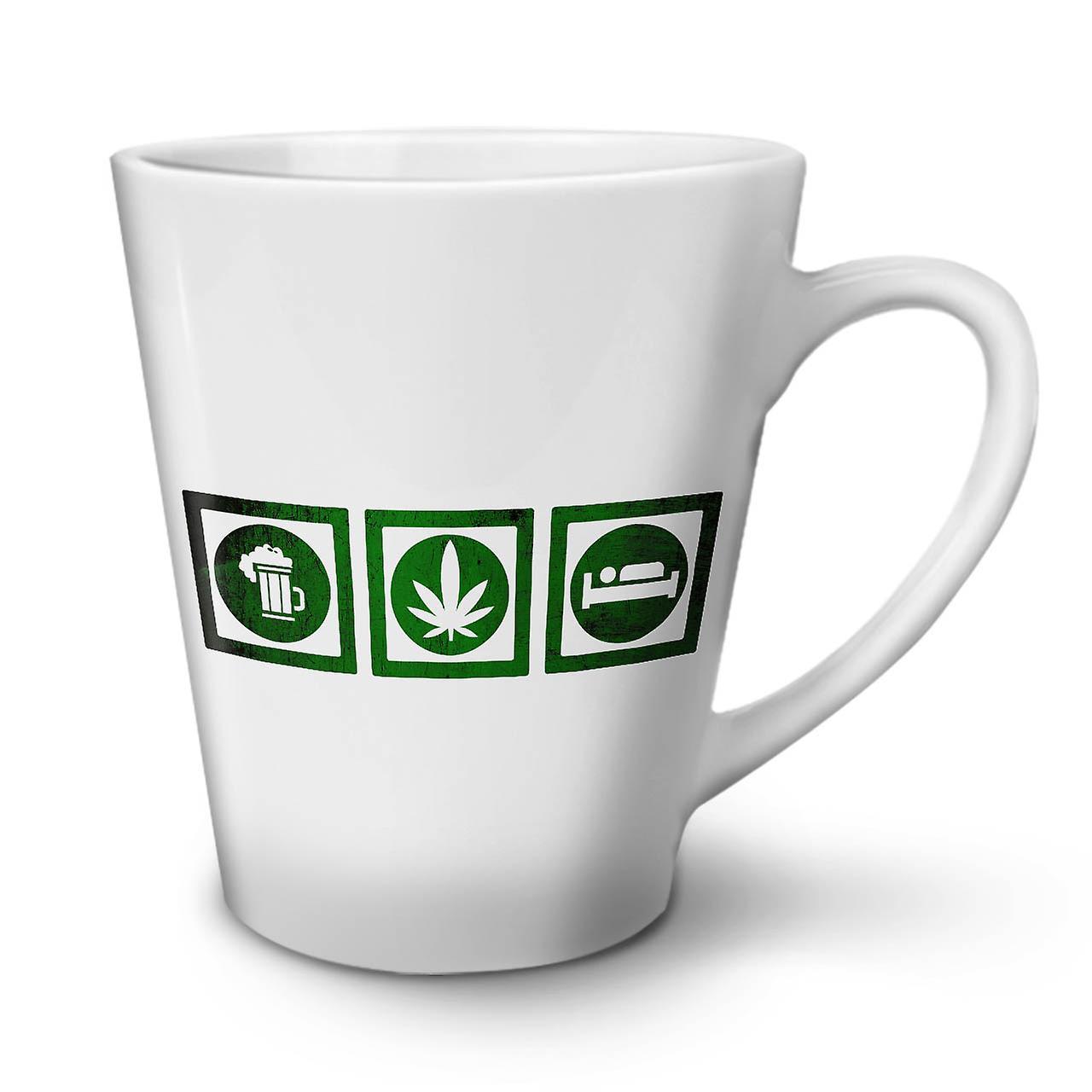 Thé Blanc Latte Nouvelle En De Drôle Tasse Céramique Bière OzWellcoda 12 Weed Dormir Café Y7vf6gby