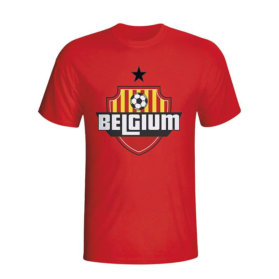 Belgium Country Logo T-shirt (red) - Kids