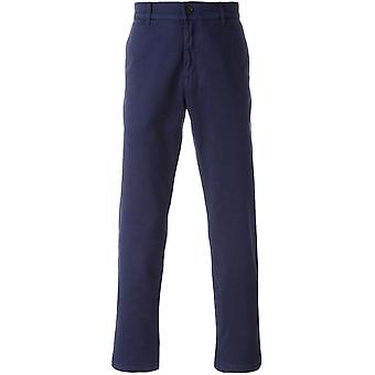 Kenzo men's PF665PA2121TABLU Blau cotton pants