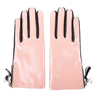 Twin-set ladies OA7T9E01509 pink gloves