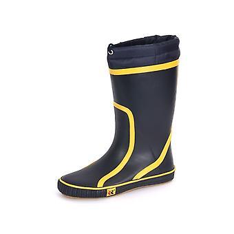 Romika Jeanie Boot N 101 Marine Gelb 34011581 kvinder sko