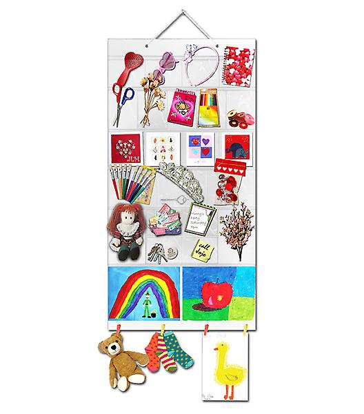 Allsorts Multisize Picture Pocket - Various Pockets & Clips