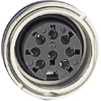 Amphenol C091 31N107 1002 Circular Connector Nominal current (details): 5 A Number of pins: 7 DIN