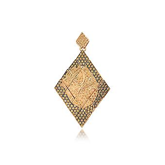 Azhar 458GOLD gold steel ladies earrings