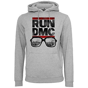 Merchcode X ARTISTS - RUN DMC City Glasses Hoody grau
