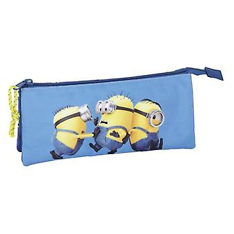 Safta Triple Portatodo Minions (Babies and Children , Toys , School Zone , Pencil Case)