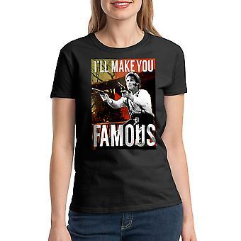Young Guns berømte kvinder sort T-shirt