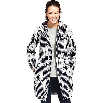 Joules Womens/Ladies Raina Waterproof Polycotton Parka Jacket Coat