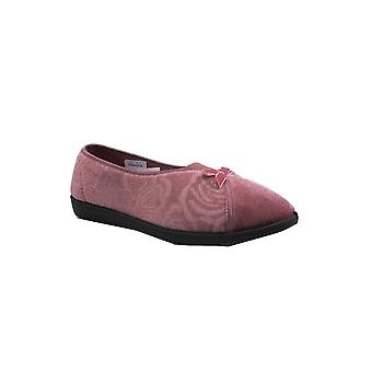 Jo & Joe Womens Slipper Bessie Heather