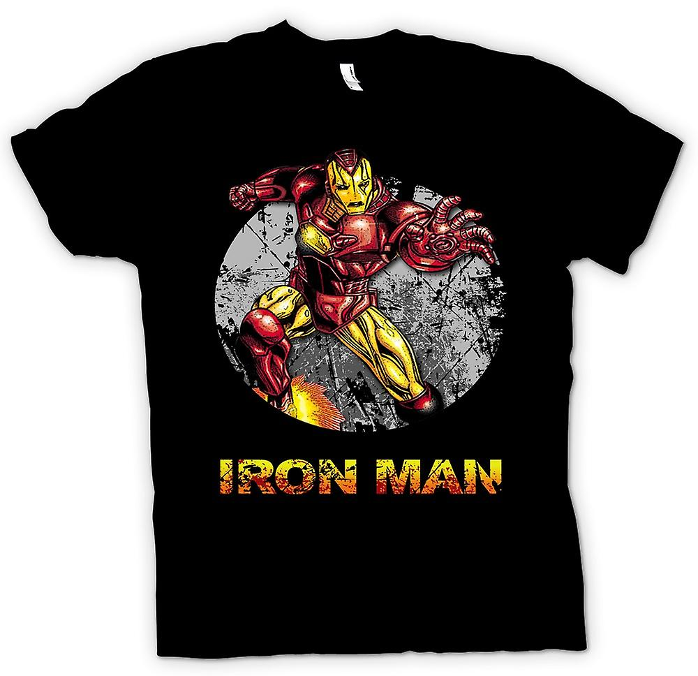 Barn T-shirt - Iron Man - komiska Super hjälte