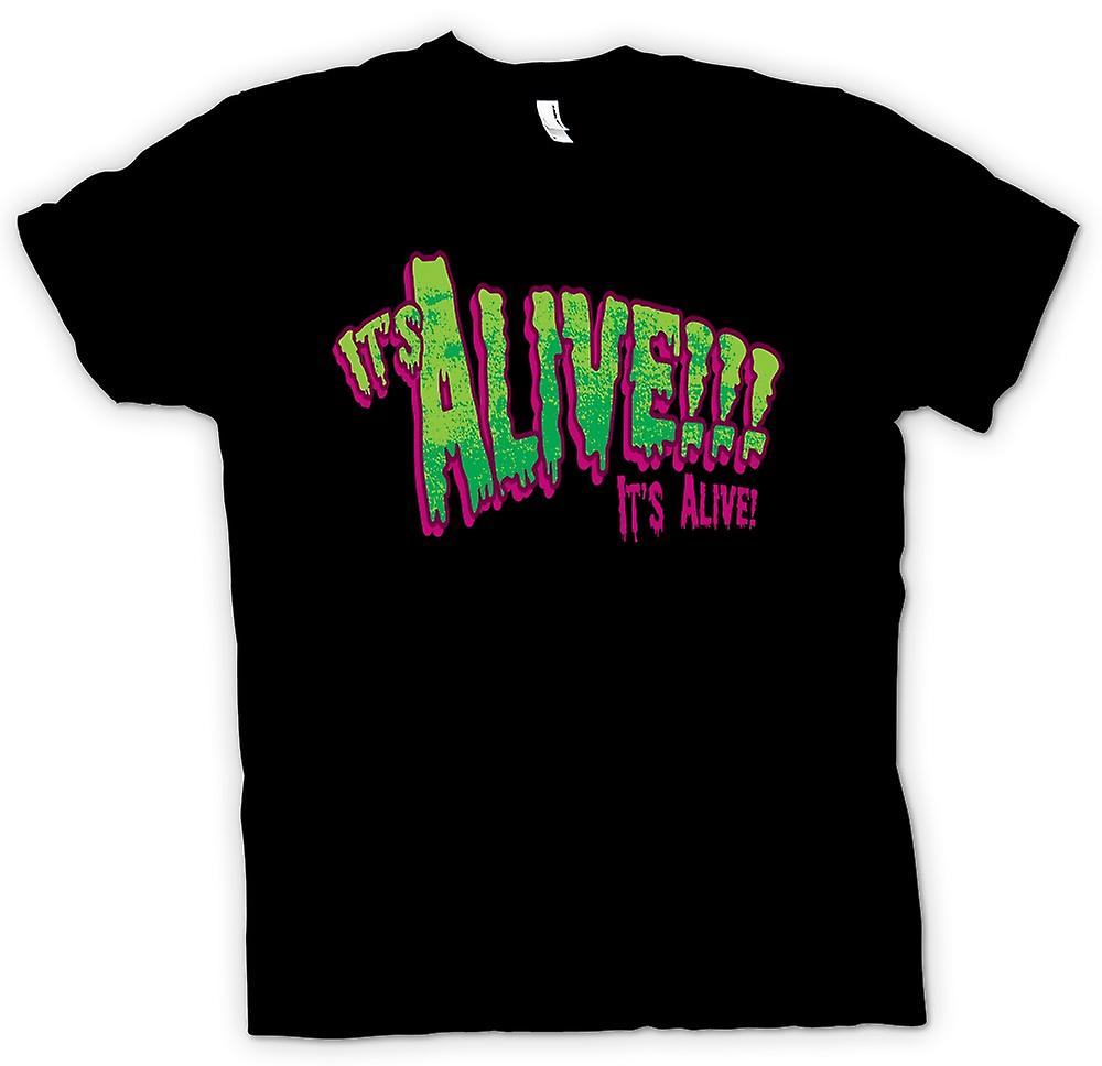 Mens T-shirt - Its Alive Frankenstein - Funny