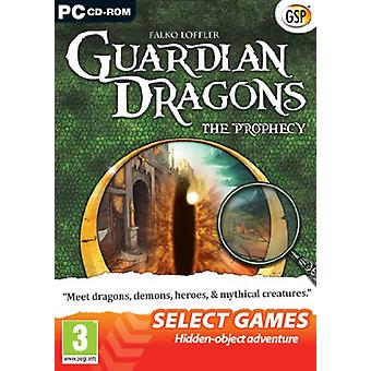 Selecteer GAMES Guardian Dragons - de profetie (PC DVD)