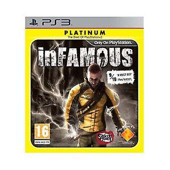 inFamous - Platinum Edition (PS3)