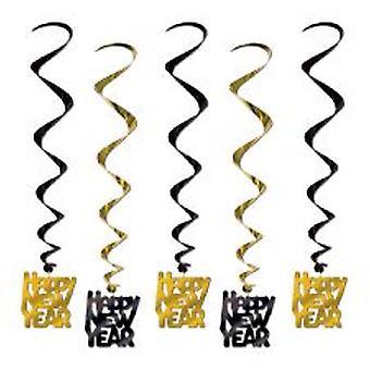 Godt nytt år hengende dekorasjon