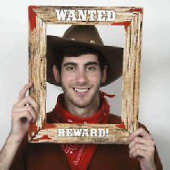 Western Wanted Frame